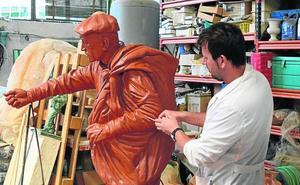 La galga Malú, campeona de España en 2018, tendrá una escultura en Calzada de los Molinos