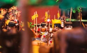 El reino de Oku, contado con Playmobil