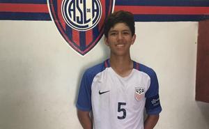 El Salamanca CF UDS firma al joven defensa americano Leonardo Sepúlveda