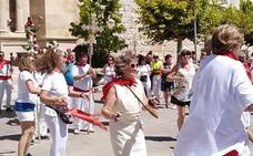 Procesión en honor a San Roque, en Tudela de Duero