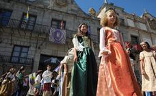Desfile infantil del sábado en la Feria Renacentista de Medina del Campo