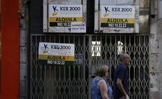 Comercios cerrados en Valladolid