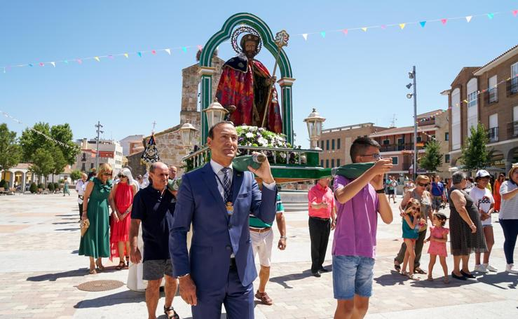 Carbajosa rinde honores a San Roque