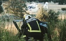 Cinco personas heridas, tres de ellas menores, en un accidente en la autovía A-66 en Buenavista