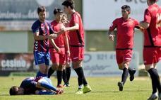 El árbitro suspende el amistoso entre Segoviana y Flat Earth tras una falta «criminal» a Elías (3-2)