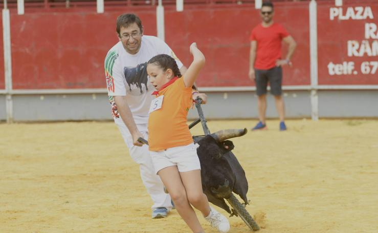 Cortes infantiles en Tudela de Duero