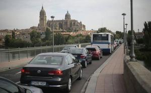 Varias obras afectarán al tráfico en el centro de Salamanca a partir de mañana