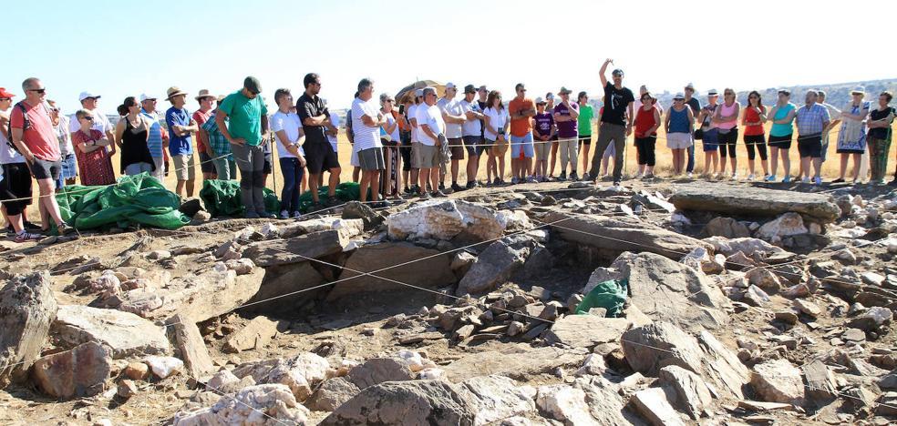 Los arqueólogos tienen evidencias de más dólmenes en la zona de Bernardos