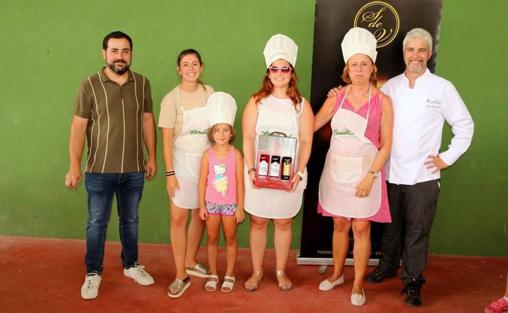 Concurso cocina en Herrera de Valdecañas