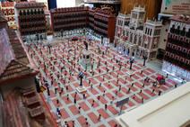 Réplicas en madera de monumentos de Valladolid