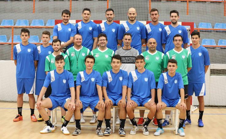 Primer entrenamiento del FS Salamanca Unionistas