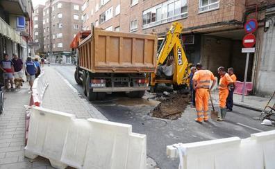 Tres nuevas obras avanzan en la 'operación asfalto' del mes de agosto