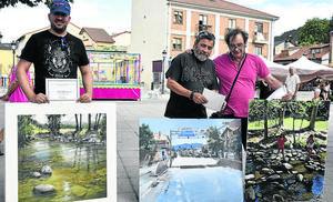 El concurso de pintura rápida llena de artistas El Espinar