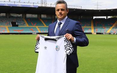 El nuevo presidente institucional del Salamanca CF UDS aspira a llevar al club a Primera