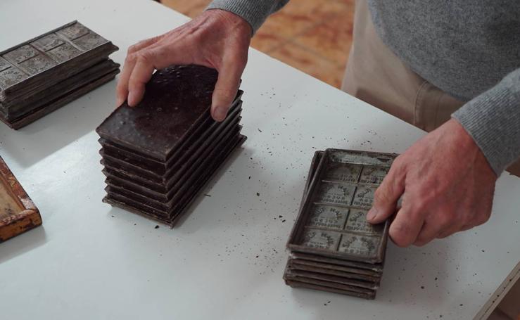 Es la fábrica de chocolates de Juan Ruiz, en Rueda