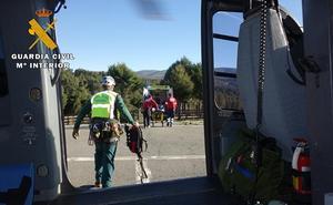 Rescate a una senderista en Gredos