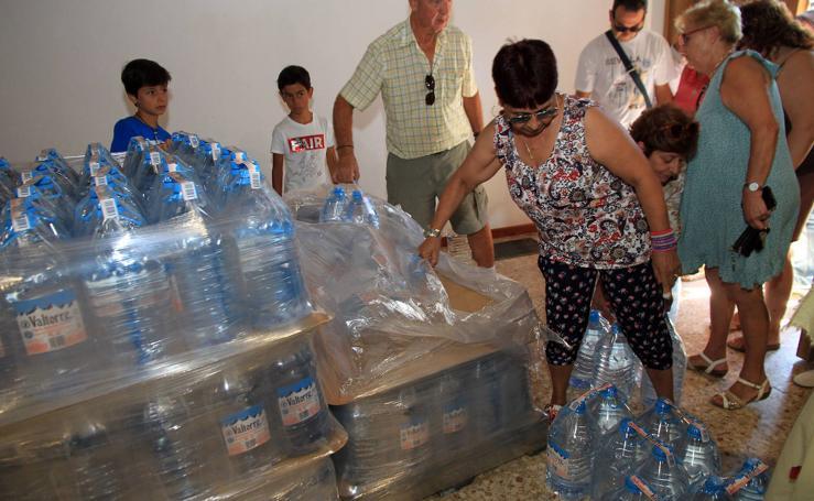 Sin agua potable desde hace cinco años