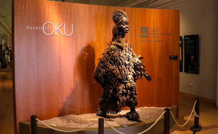 Exposición 'El reino de Oku'