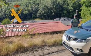Arrestado un hombre como supuesto autor de un robo en una mina al norte de Palencia