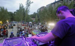 Programa joven por espacios para las fiestas de Valladolid