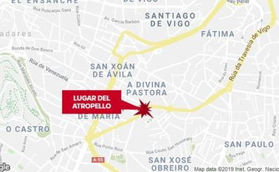 Fallece una vallisoletana de 82 años atropellada por un ciclomotor en Vigo