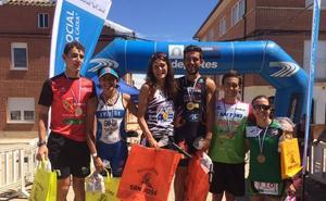 Rodríguez y Cuchillo logran la victoria en el Triatlón Olímpico de Lantadilla