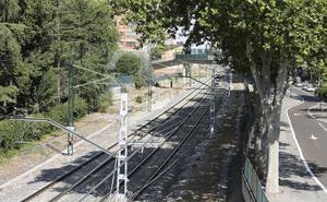 Hallado el cadáver de un hombre arrollado por el tren en Palencia