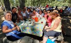 Nava de Francia despide sus fiestas en hermandad