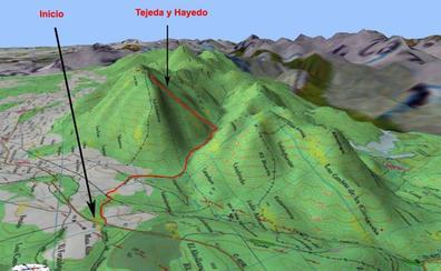 Rescatado un montañero accidentado en la ruta de la Tejeda de Tosande de Palencia