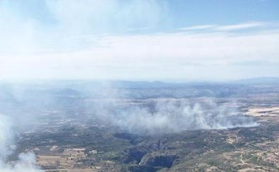 Un incendio ya extinguido quema cerca de 30 hectáreas en El Bodón
