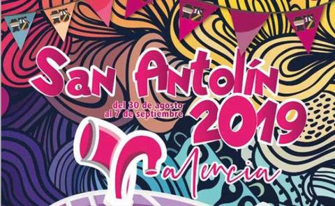Programa de fiestas de San Antolín en Palencia 2019. Domingo, 1 de septiembre