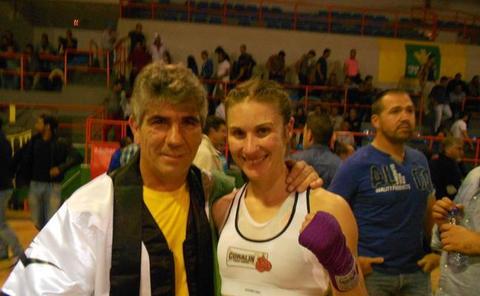 La Junta nombra a la exboxeadora salmantina María Perrino Peña directora general de Deportes