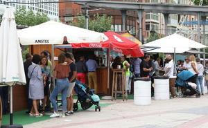 La Feria de Día de Palencia sigue cayendo y solo tendrá diez casetas de tapas en San Antolín