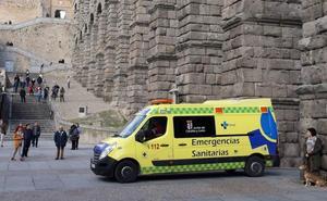 Un hombre resulta herido en un accidente de parapente en la provincia de Segovia