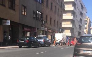 Herido un hombre en un atropello en la avenida de Italia de Salamanca