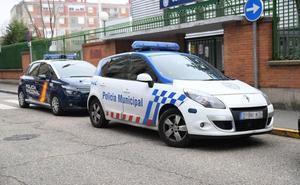 Ingresa en prisión en Valladolid tras morder a un policía, arañar a otro y clavar a un tercero un tubo metálico