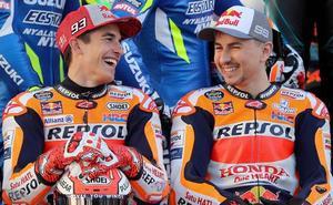 Lorenzo intenta reafirmar su compromiso con Honda