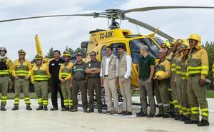 Mañueco anuncia más empleo para luchar contra los incendios