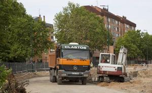 Adif culmina los preparativos para construir los muros pantalla del túnel de Pilarica, en Valladolid