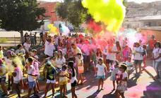 fiesta de colores solidaria con masterclass de Zumba en Torrelobatón