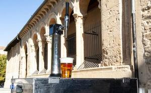 Segovia cumple la última voluntad de 'Pali': un grifo de cerveza en su funeral