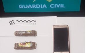 Detenida con dos tabletas de hachís escondidas en su ropa interior en una visita a la cárcel de Dueñas