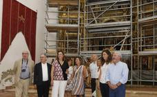 Cisneros restaura el retablo de San Pedro para su inclusión en 'Campos del Renacimiento'