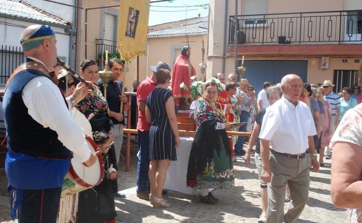 Fiestas de San juan Bautista en El Cabaco