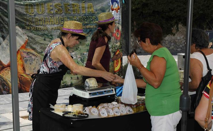 Feria del queso en Sardón de Duero