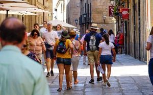 Salamanca rebasa los 100.000 turistas en julio pero el tiempo de estancia se estanca