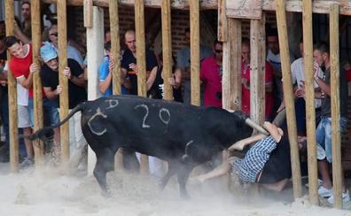 Un herido leve por un puntazo en Serrada