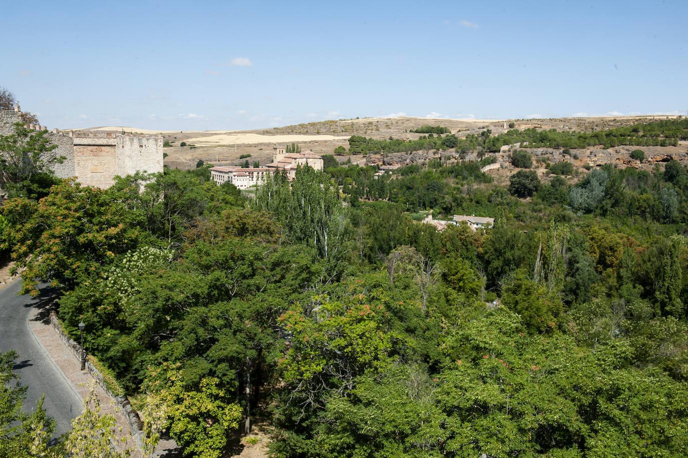 El mantenimiento de las zonas verdes de Segovia cuesta 1,4 millones de euros al año