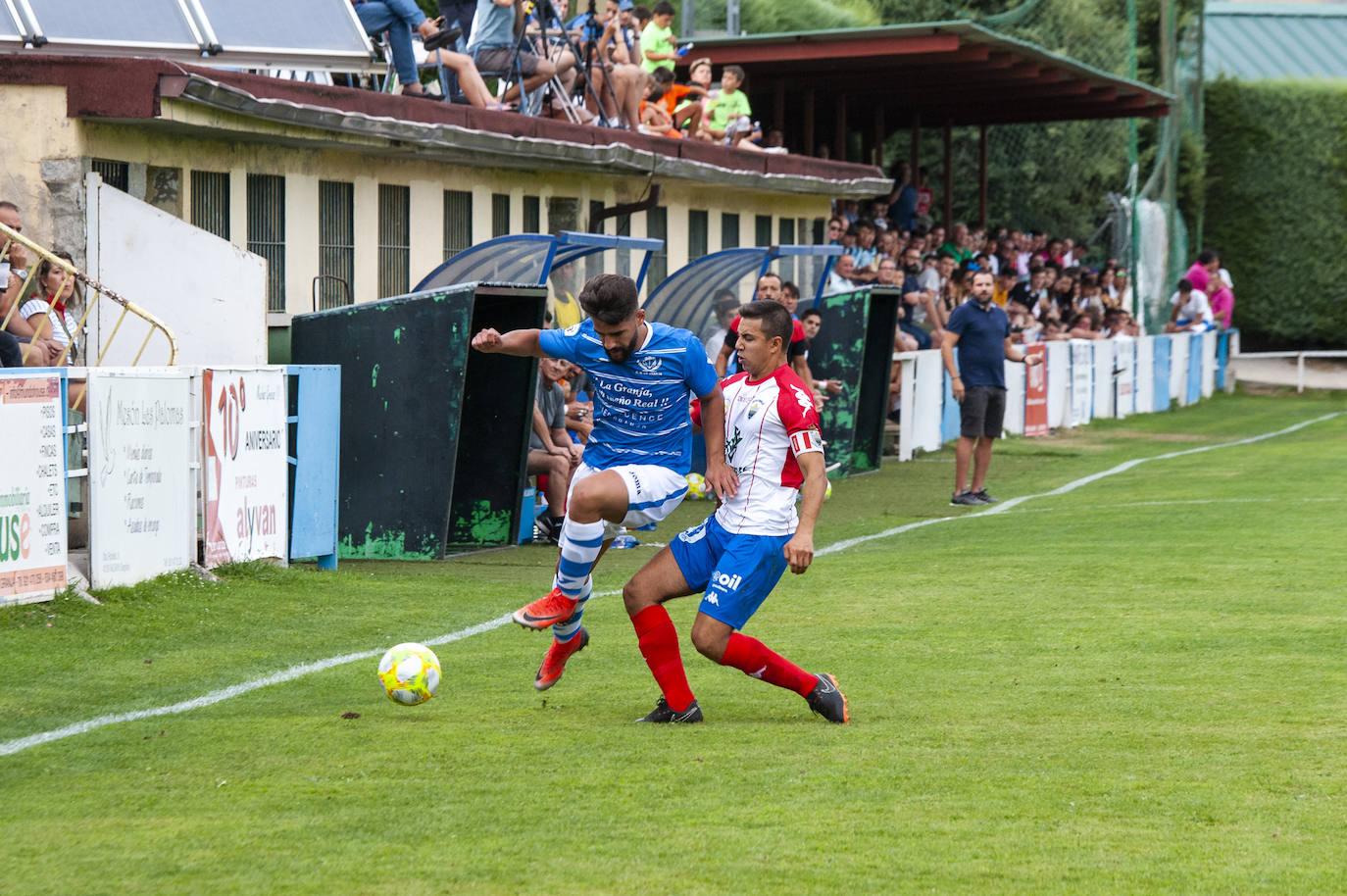 Partido entre La Granja y el Atlético Tordesillas