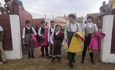 Exhibición taurina en las fiestas de Torrelobatón